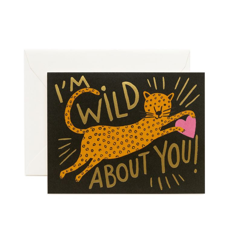 Rifle Paper Co - Single Card - Wild About You