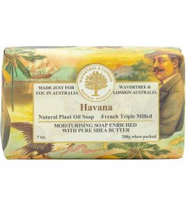 NATURAL PLANT OIL SOAP - HAVANA