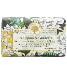 NATURAL PLANT OIL SOAP - FRANGIPANI AND GARDENIA