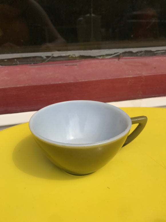 Green Anchor hocking tea cup.⁣ ⁣⁣⁣⁣