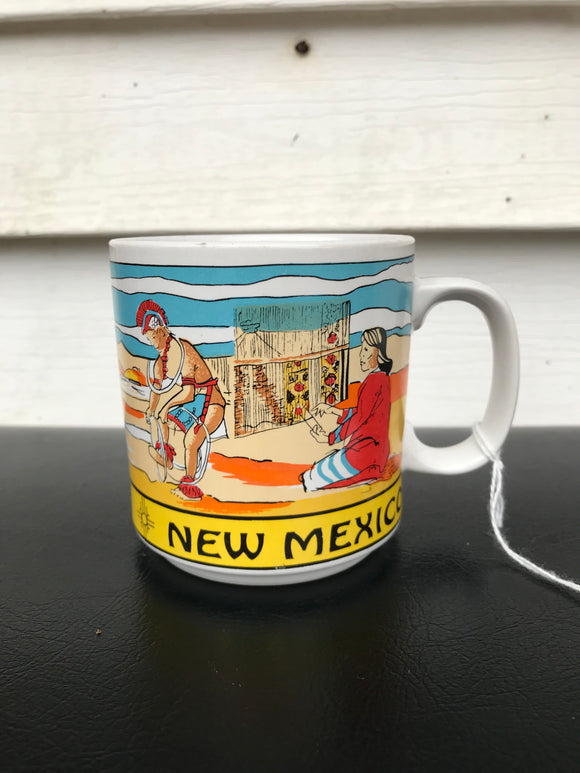 New Mexico Souvenir coffee mug.⁣