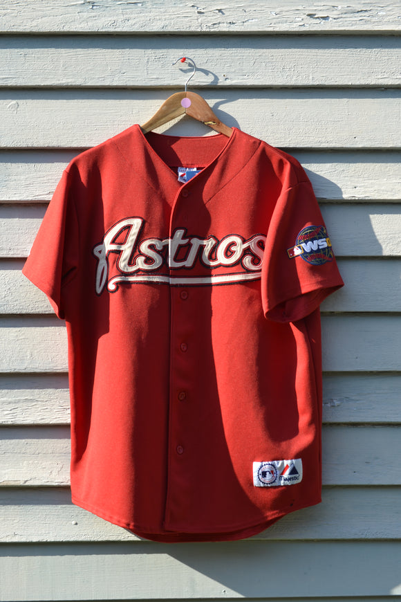Houston Astros 05 World Series Majestic Jersey
