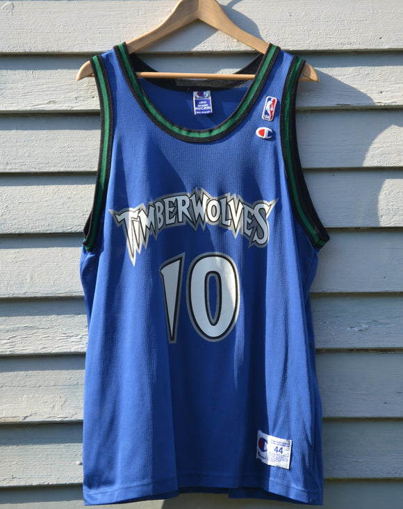 Wally Szczerbiak Minnesota Timberwolves Champion Jersey