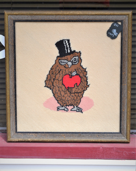 Owl Needlepoint