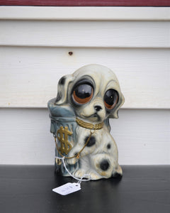 1970's Big eyes Puppy bank