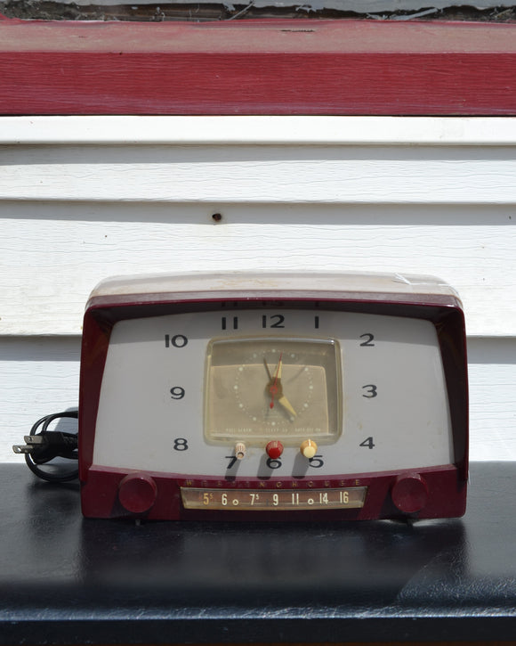 Westinghouse clock radio