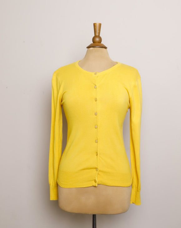 1960's Mustard Yellow Cardigan