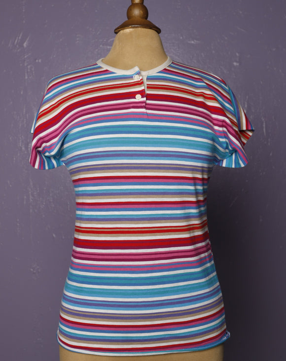 1980's Candy striped tee