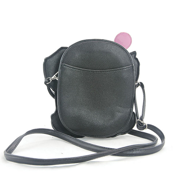 Cute Elephant & Balloon Vinyl Crossbody Handbag Purse