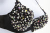 Black or White Pearl Mixed Beaded Belly Dance Fashion Bra