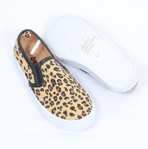 Leopard Canvas Slip-On Sneakers Toddler & Girls