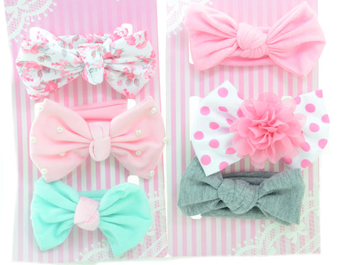 Headband Headwraps Bows Infant Toddler Assorted