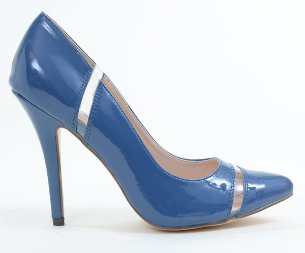 CLEAR Patent Pointy-toe Classic Pump