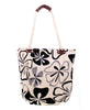 Hibiscus Tropical Floral Design Fashion Tote Bag Travel Purse