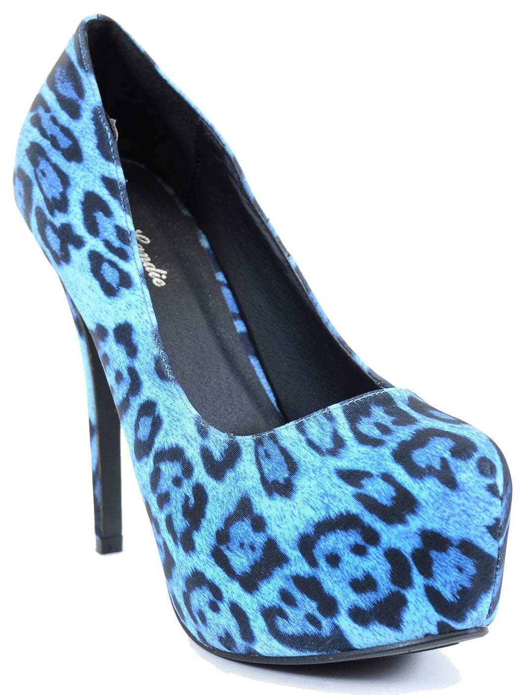 Leopard Classic Vegan Stilleto Hidden Platform Pumps