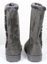 Load image into Gallery viewer, Furry Mid-calf Durable Fur-lined Vegan Suede Boots