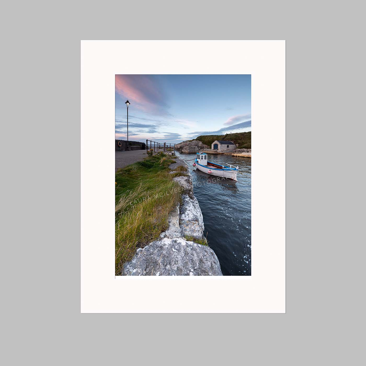 'Safe in the harbour' - Ballintoy Harbour