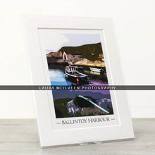 Load image into Gallery viewer, Ballintoy Harbour Vintage Style Poster