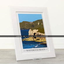 Load image into Gallery viewer, Whiterocks Beach Vintage Style Poster