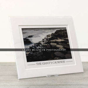 The Giant's Causeway Vintage Style Poster