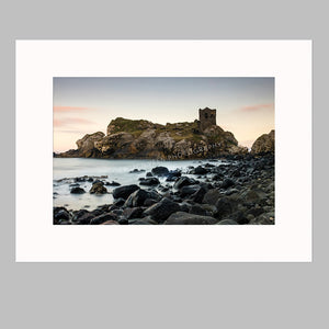 Kinbane Castle Mounted Photo Print