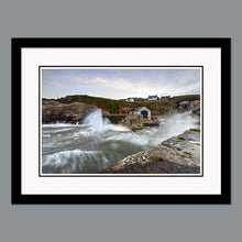 Load image into Gallery viewer, 'A storm is coming' - Ballintoy Harbour Print