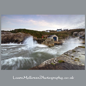 'A storm is coming' - Ballintoy Harbour Print