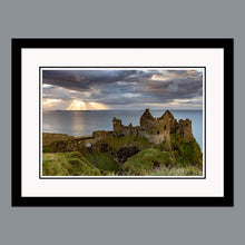 Load image into Gallery viewer, 'Dunluce Cloud Sunburst' - Dunluce Castle, Bushmills