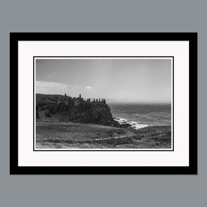 'Rain is coming' - Dunluce Castle, Bushmills