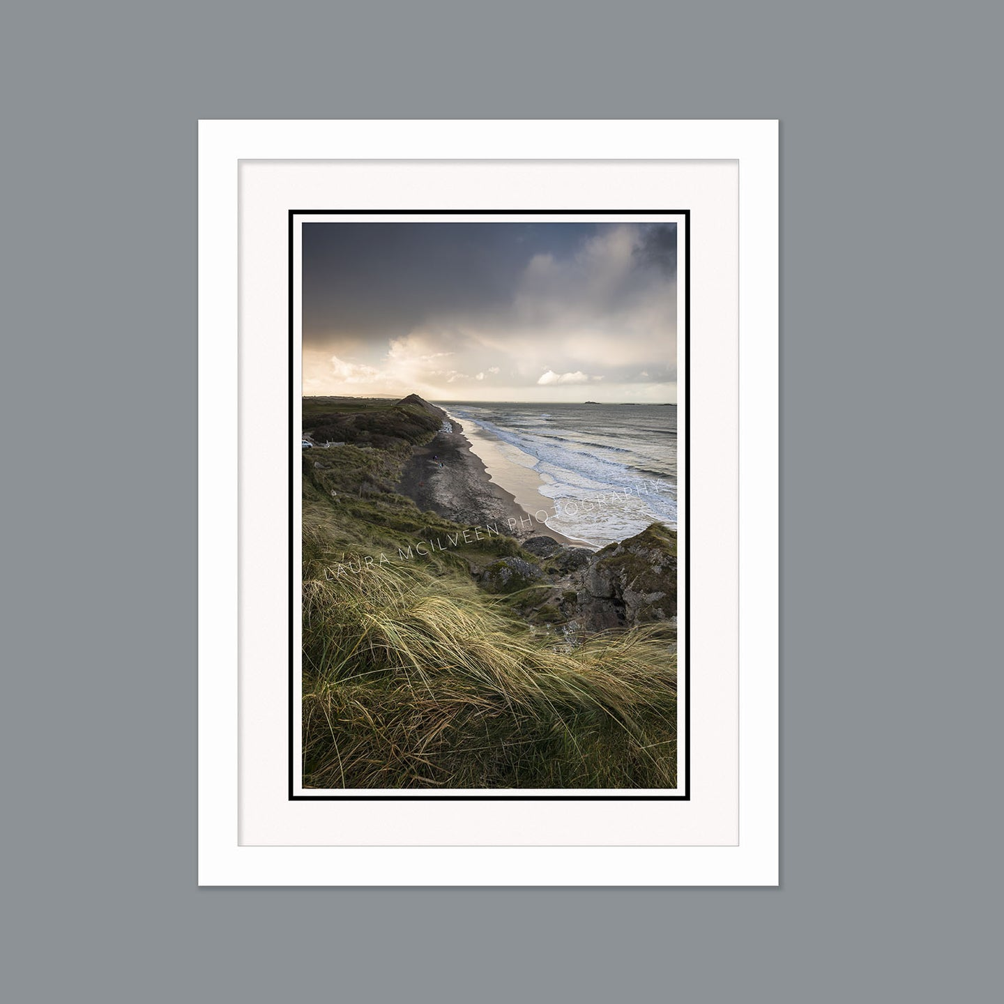 'Weathering the storm' - Whiterocks Beach