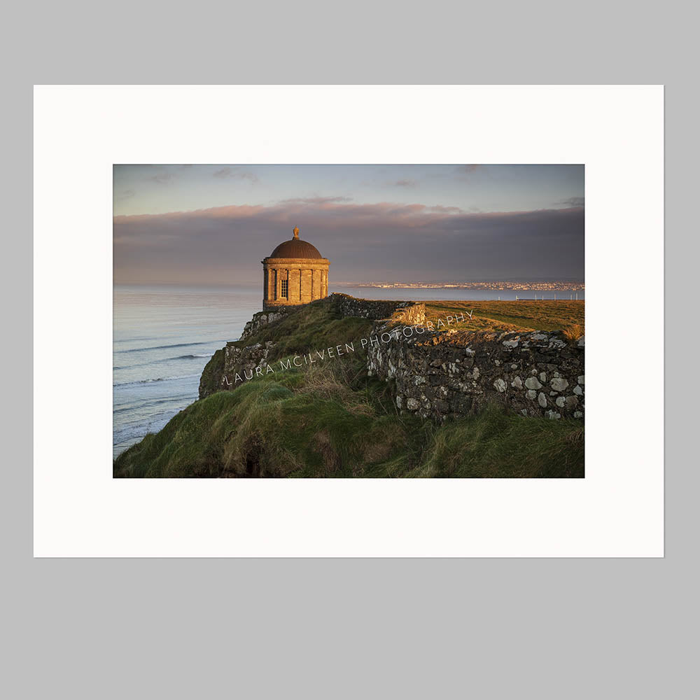 'Ending the year as I mean to go on' - Mussenden Temple