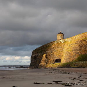 'There's light at the end of the tunnel' - Downhill, Mussenden Temple