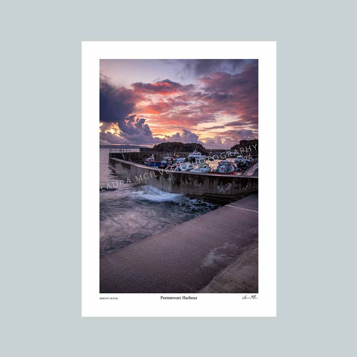 Portstewart Harbour - The Timed Collection