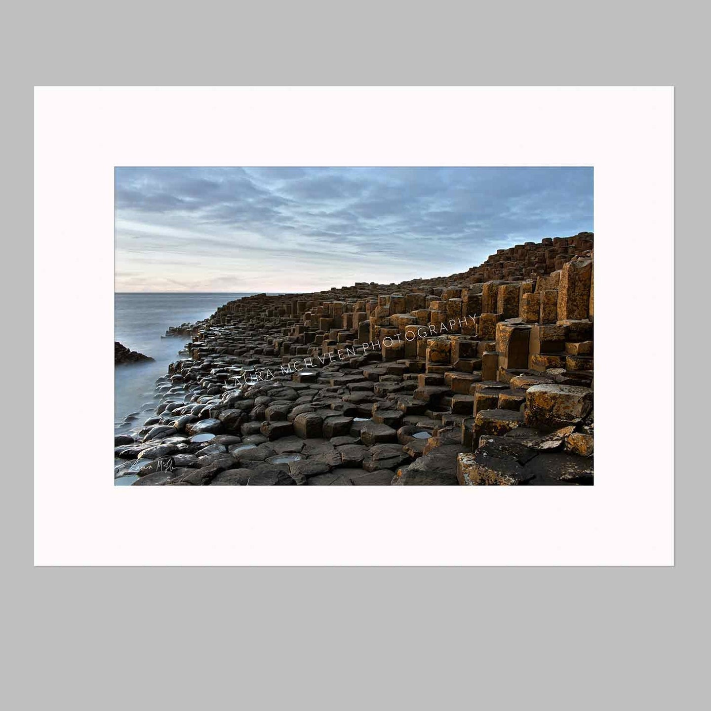 'Blue Hour At The Stones', The Giant's Causeway
