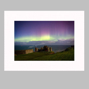 'The First Aurora' - Dunluce Castle Aurora