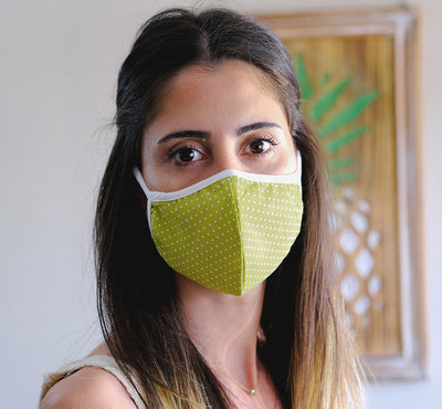 Inspire Ecoware™ - Face Mask + Filter & Nose Wire