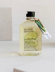 Cottage Greenhouse Cucumber & Honey Body Wash - Mirror Mirror Brow House