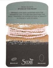 Load image into Gallery viewer, Scout Stone Wrap Bracelet - ROSE QUARTZ