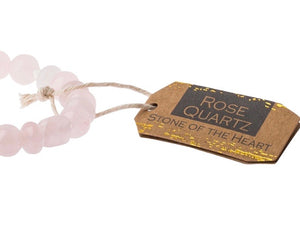 Scout Stone Stackable Bracelet- Rose Quartz