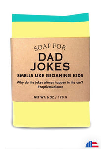 Whiskey River Soap Co. DAD JOKES Soap