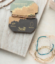 Load image into Gallery viewer, Scout Delicate Stone Wrap Bracelet- APATITE