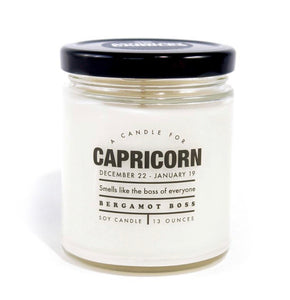 CAPRICORN-Astrology Candles