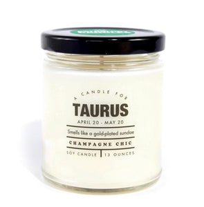 TAURUS - Astrology Candles