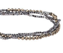 Load image into Gallery viewer, Scout Delicate Wrap Bracelet- Pyrite