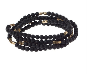 Scout LAVA STONE Wrap Bracelet/Necklace