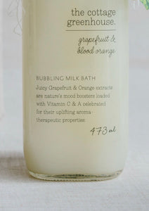 Grapefruit & Blood Orange Bubbling Milk Bath