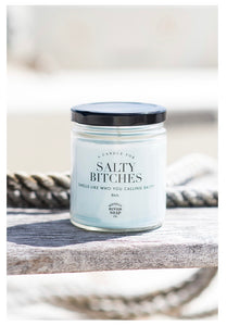 Whiskey River Soap Co. SALTY BITCHES Candle