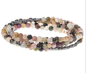 Scout TOURMALINE Stone Wrap Bracelet/Necklace