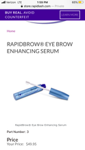 Load image into Gallery viewer, RAPID BROW Enhancing Serum