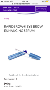 RAPID BROW Enhancing Serum
